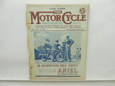 March 1937 THE MOTORCYCLE Magazine Ariel Matchless Clubman L8558