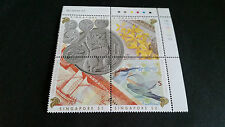 SINGAPORE 1993 SG 702-705 25TH ANNIV OF CURRENCY MNH