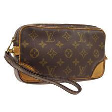 LOUIS VUITTON MARLY DRAGONNE CLUCTH HAND BAG PURSE MONOGRAM aes M51827 A51492