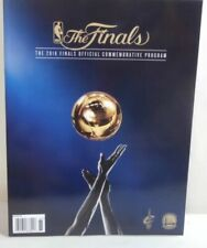 2016 Cavs Warriors Finals NBA Commemorative Program Cavaliers Golden State 152p