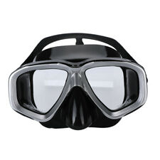 Anti-Fog Scuba Free Dive Diving Mask Tempered Glass Lens Snorkeling Gear