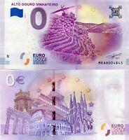 Alto Douro Vinhateiro Wine Valley Portugal 0 Euro Souvenir Note 2018 Series 1