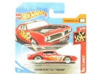 Hot Wheels Custom 67 Pontiac Firebird 128/365 Short Card 1 64 Scale Sealed New