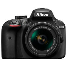 "Nikon D3400 AF-P 18-55 Kit Digital SLR HD 1080P 24.2MP 3"" LCD Camera (ML1577)"