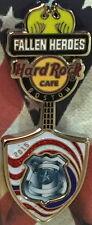 Hard Rock Cafe BOSTON 2015 FALLEN HEROES Guitar Series PIN 9/11/01 HRC Tribute