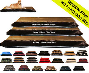 XL Dog Bed Mattress, Removable, Washable FauxFur Brown Dog Bed Cover Kosipet