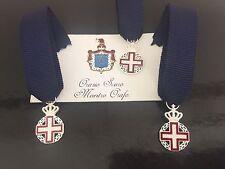 Miniatura commemorativa del bicentenerio dell'Ordine Militare di Casa Savoia