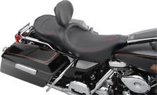 Drag Black with Red Stitching Harley Davidson Seat 1997-2007
