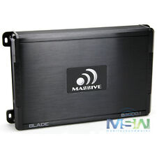 MASSIVE AUDIO B2000.1 2000W MAX BLADE-Series MONOBLOCK CAR AUDIO AMPLIFIER AMP