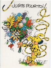 CP MARSUPILAMI - dessin de Batem - Franquin Fantasio Middelkerke Palombie 02