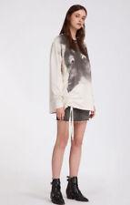 Allsaints Women Kit Able Sweat Ivory White Sweatshirts Cat printed