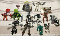 Lego Bionicle Lot 8745 7117 8618 Various