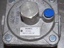 """Maxitrol RV48CL 1/2 PSIG Nat 5"""" LPG 10"""" Regulator"""
