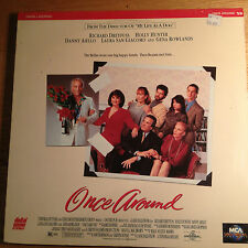 Once Around  Laserdisc LD Movie
