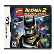 LEGO Batman 2: DC Super Heroes Nintendo DS Brand New sealed ships NEXT DAY