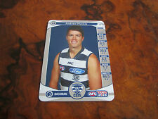 2014 TEAM COACH SILVER UNUSED CODE GEELONG CATS 24 ANDREW MACKIE TEAMCOACH CARD