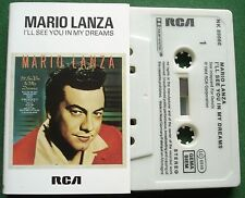 Mario Lanza I'll See You in My Dreams inc Lady of Spain + Cassette Tape - TESTED