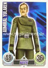 Star Wars Force Attax  Admiral Yularen #042