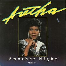 ARETHA FRANKLIN - ANOTHER NIGHT / KIND OF MAN. (UK, 1986, ARISTA, ARIST 657)