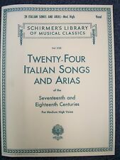 28 Italian Songs and Arias of the 17th and 18th Centuries Complete All 050498740