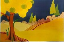 BEATLES YELLOW SUBMARINE BACKGROUND-CEL-DISPLAY-HOBBY-REPRINT-CELL SUB    B19