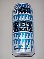 Evil Twin Brewing - Wet Dream - Brown Ale -  Empty 16oz Craft Beer Can New York