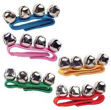 Velcro Hand Bells Wrist Jingle Music Toy Kids by Schylling 1 Wristband Band Fun