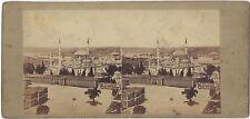 Constantinople Turquie Alexis Gaudin Paris Photo Stéréo Vintage albumine ca 1860