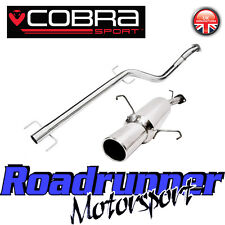 Cobra Sport Astra G MK4 Hatch 1.4 Exhaust System Stainless Non Resonated VA15