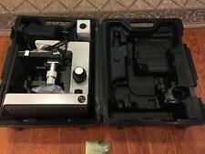 Leitz Laborlux D Microscope Withgenuine Carry Case Case Extra Bulbs Tested Working