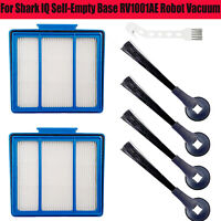 Side Brush Filter for Shark IQ Self-Empty Base RV1001AE Robot Vacuum Cleaner BS