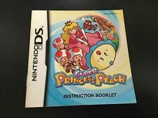 Super Princess Peach -  Nintendo DS Game Manual