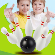 TH_ 12Pcs Toddler Kids Bowling Game Set Outdoor Indoor Sports Learning Toy Gift