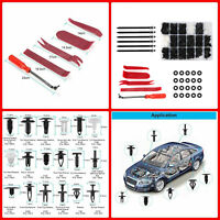 446PC Car Body Trim Clips Retainer Bumper Rivets Screw Panel Push Fastener Kit U