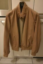 STEWART giubbino jacket pelle  jeff SLIM  size taglia L