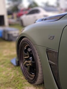 Carbon Fiber Novel Style Fender Duct To Fir Lexus ISF 08-14