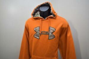 Under Armour Hoodie ColdGear Storm Camo Full Zip Athletic Fleece Mens Sz XL
