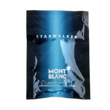 Mont Blanc Starwalker for Men Eau de Toilette Vial Sample Spray 0.06oz 2ml