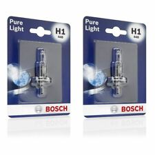 2x Lucas H1 448 130/% White Headlamp Dipped Beam Bulb Jaguar X-Type 2001/>2009