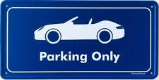 Parking Only-PORSCHE 911/997 Cabrio-aluminium bouclier