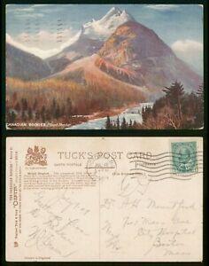 Mayfairstamps Canada PC 1909 Tuck Oilette Rockies Mount Stephen Postcard wwp8124