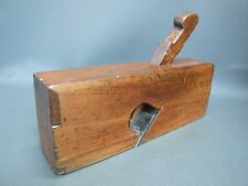 "Wooden rebate rabbet plane 1 15/16"" old tool by W Gaskin"