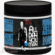 All day you may 465g BCAA 10:1:1 aminodrink muscolare Rich Valdambrini 5% Nutrition