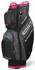 Sun Mountain Women's Starlet Cart Bag Ladies Golf 2020 Black/Knit/Pink New