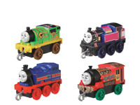 THOMAS & FRIENDS TRACKMASTER PUSH ALONG ENGINES THEMED 4 PACK TRAVEL WITH THOMAS