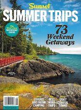 Sunset magazine Summer Trips Weekend getaways Luxury Airstream camping Road trip