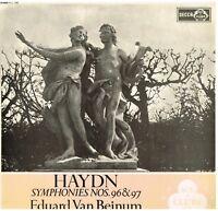 Haydn: Sinfonie N.96 & 97 / Eduard Von Beinum, Cancertgebouw Orchester Amst. LP