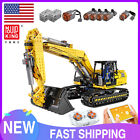 MOULD KING Excavator Technic Car Toy 8043 Motorized Truck Building Block 13112