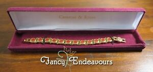 Camrose & Kross JBK Jacqueline Kennedy Castellani Wedding Bracelet Box & COA