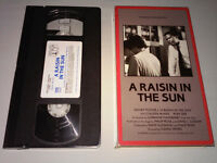 A Raisin in the Sun, with Sidney Poitier (1987 VHS)